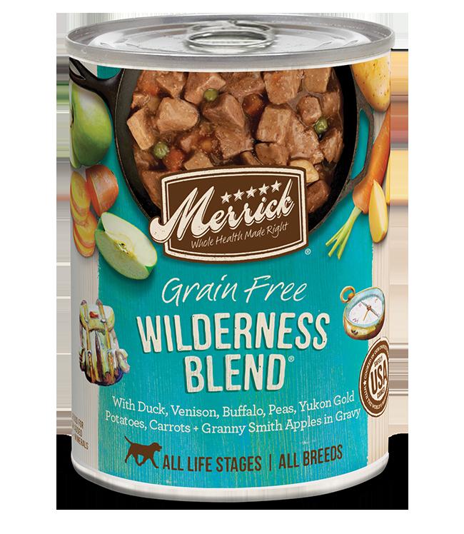 Merrick Pet Foods Merrick Grain Free Wilderness Blend Dog Can 12.7oz Product Image