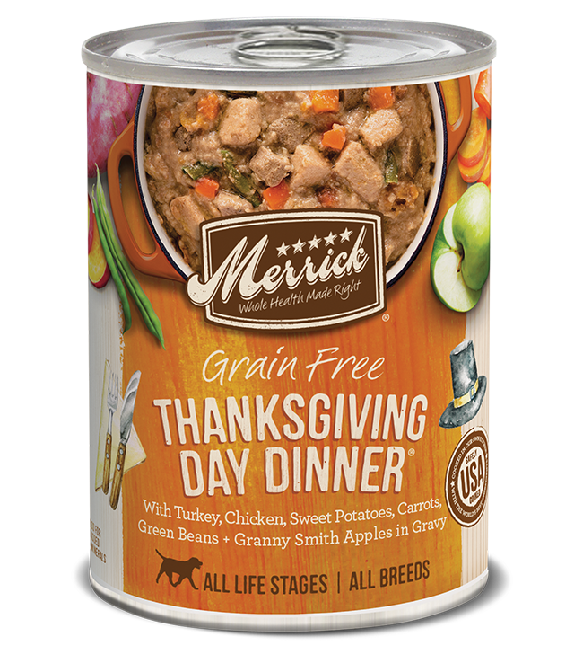 Merrick Merrick Grain Free Thanksgiving Day Dog Can 12.7oz Product Image