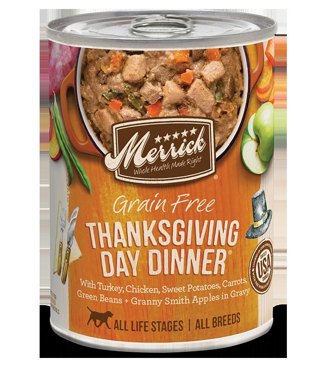 Merrick Pet Foods Merrick Grain Free Thanksgiving Day Dog Can 12.7oz Product Image