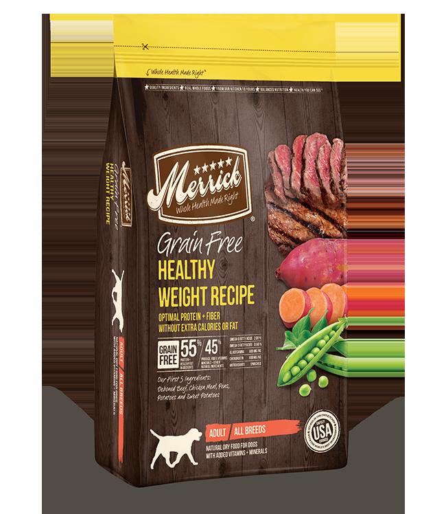 Merrick Merrick Grain Free Healthy Weight Recipe Dog Dry 25lbs Product Image