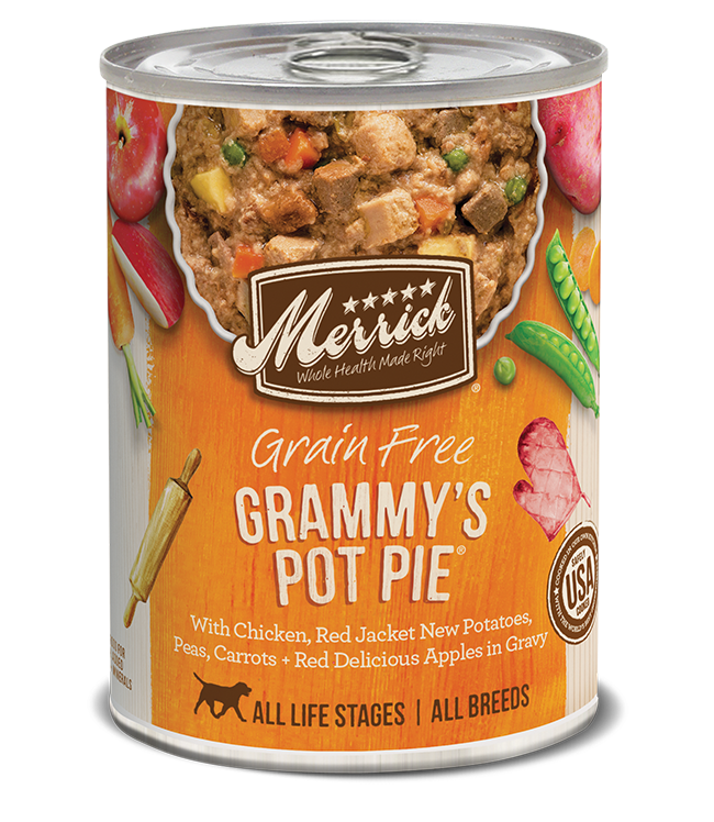 Merrick Grain Free Grammy's Pot Pie Dog Can 12.7oz Product Image
