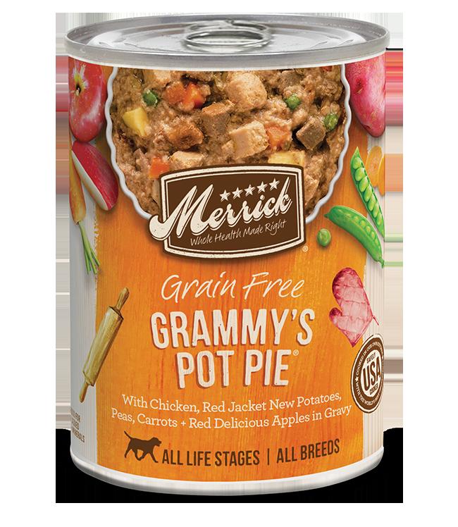 Merrick Pet Foods Merrick Grain Free Grammy's Pot Pie Dog Can 12.7oz Product Image