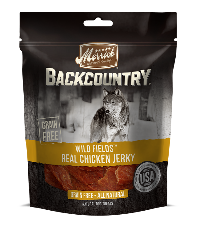Merrick Merrick Backcountry Wild Fields Chicken Jerky Treats 4.5oz Product Image