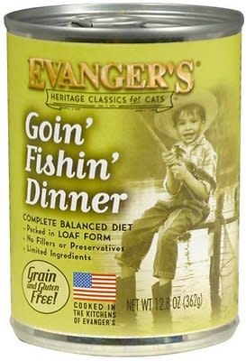 Evanger's Evanger's Classic Goin' Fishin' Dinner Cat Can 13oz Product Image
