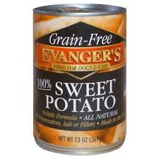 Evanger's Evanger's Dog & Cat Can Grain Free 100% Sweet Potato 13oz Product Image