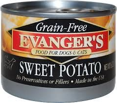 Evanger's Evanger's Dog & Cat Can Grain Free 100% Sweet Potato 6oz Product Image