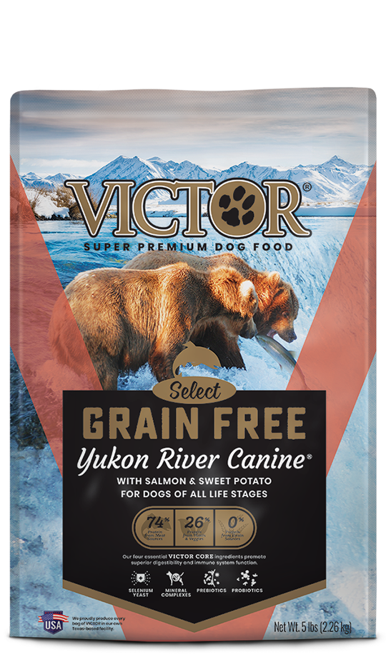 Victor Victor Grain Free Yukon River Canine 30lb Product Image
