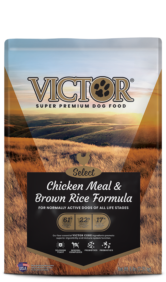 Victor Victor Chicken Meal & Brown Rice Dog Food 40lbs Product Image