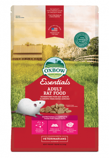 Oxbow Oxbow Food Essentials Rat Adult 3lb Product Image