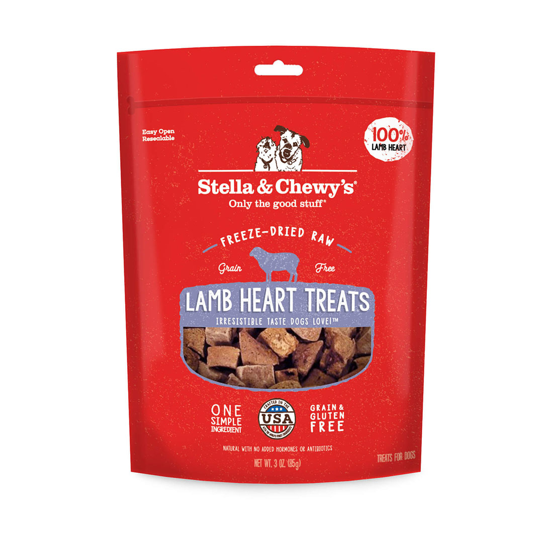 Stella & Chewy's Stella & Chewy's  Freeze-Dried Raw Lamb Hearts 3 oz Product Image