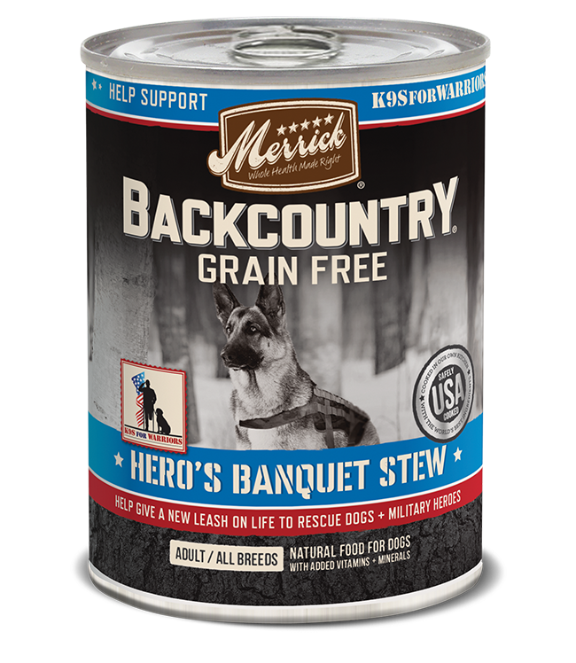 Merrick Merrick Backcountry Hero's Banquet Dog Can 12.7oz Product Image