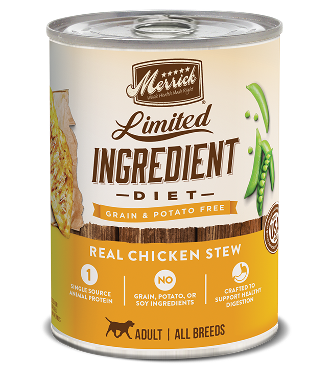 Merrick Merrick Limited Ingredient Diet Chicken Recipe Dog Can 12.7oz Product Image