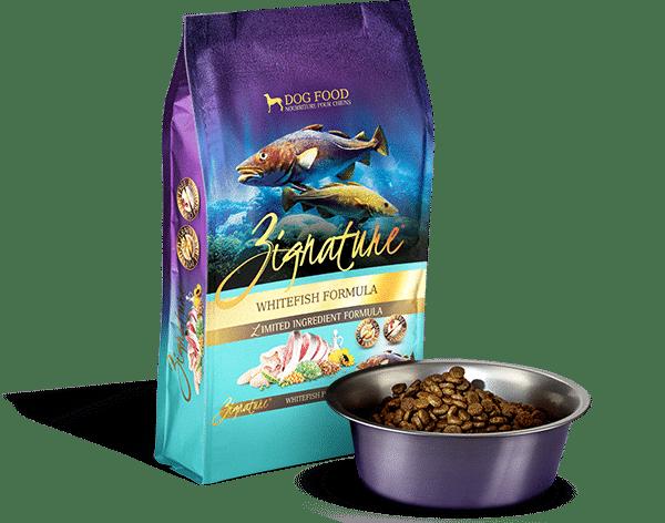 Zignature Zignature Whitefish Limited Ingredient Formula Dog Food 4lbs Product Image