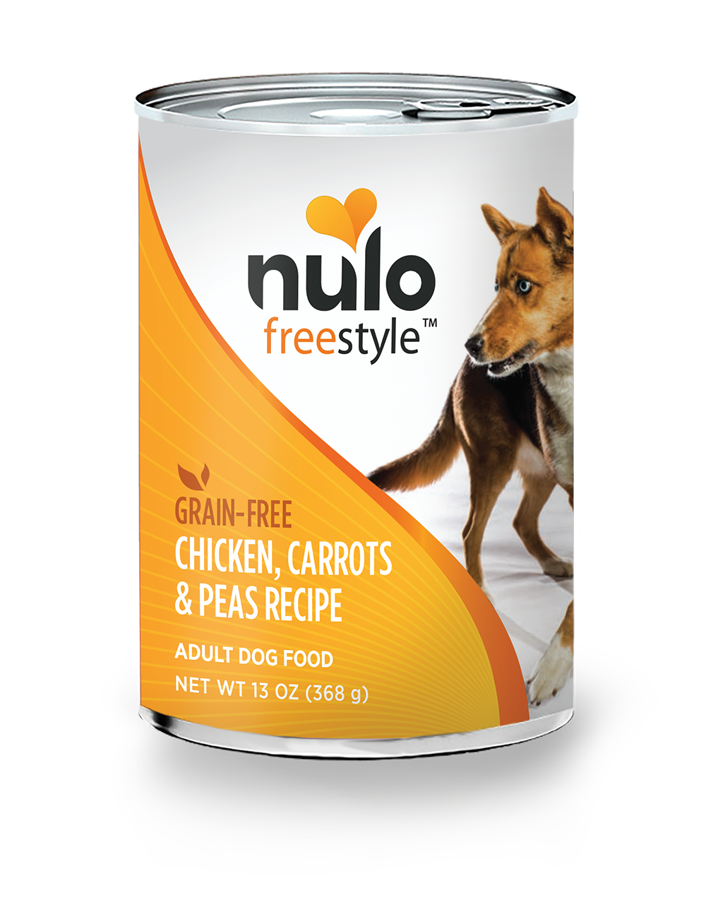 Nulo Nulo Freestyle Chicken, Carrots, and Peas Recipe Dog Can 13oz Product Image