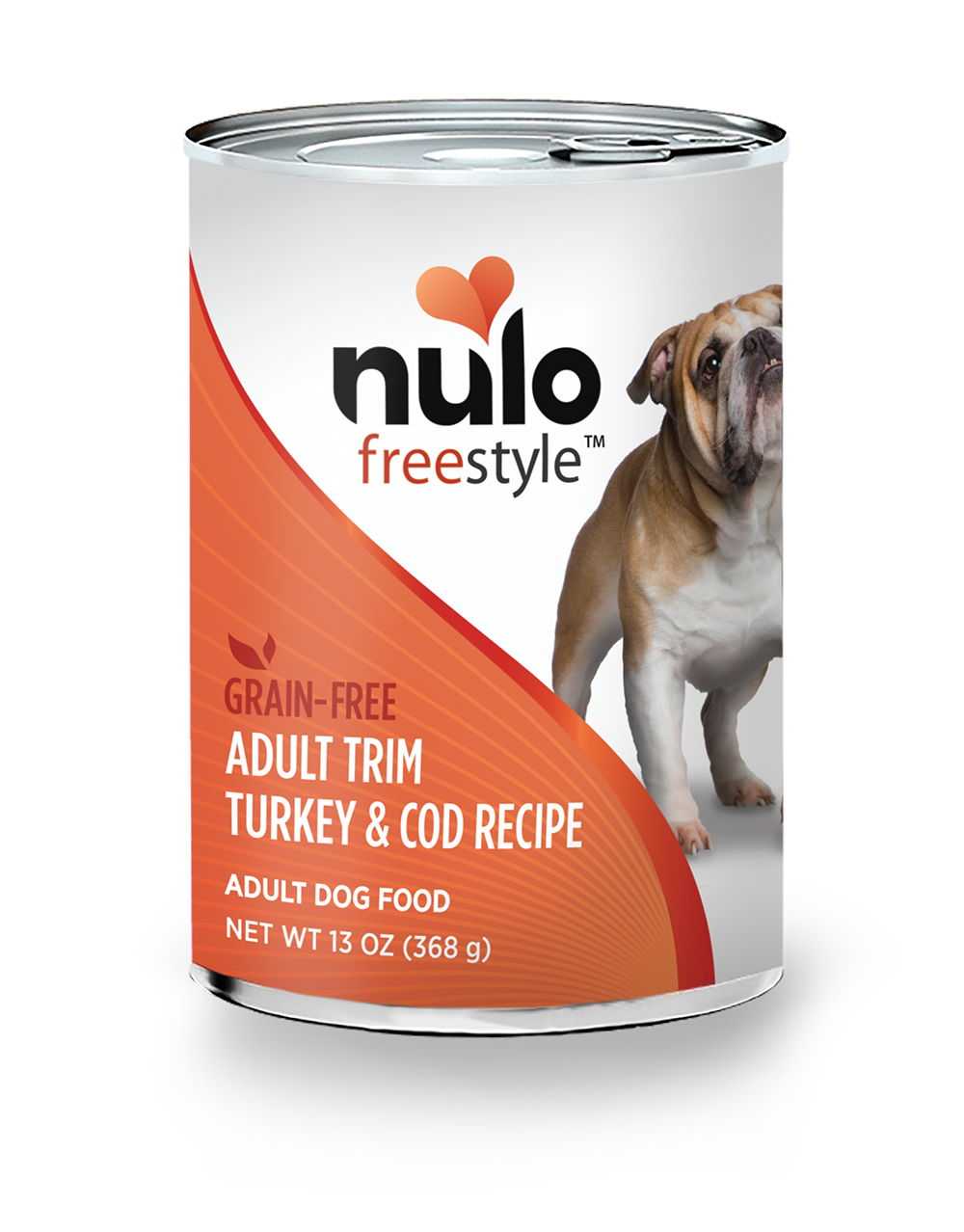 Nulo Nulo Freestyle  Adult Trim Turkey and Cod Recipe Dog Can 13oz Product Image