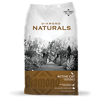 DIAMOND PET FOODS Diamond Naturals Cat Chicken Meal and Brown Rice Cat Dry 6lbs Product Image