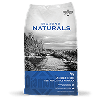 DIAMOND PET FOODS Diamond Naturals Adult Beef and Rice Dog Dry 40lbs Product Image