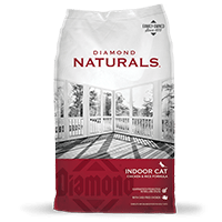 Diamond Diamond Naturals Indoor Chicken and Rice Cat Dry 6 lb Product Image