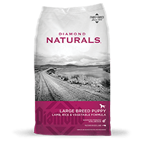 Diamond Diamond Naturals Large Breed Puppy Lamb, Rice, and Vegetable Dog Dry 20lbs Product Image
