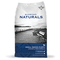 DIAMOND PET FOODS Diamond Naturals Small Breed Puppy Chicken and Rice Dog Dry 18lbs Product Image