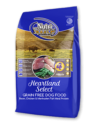 Nutrisource NutriSource Grain Free Heartland Select Dog Dry 30 lb Product Image