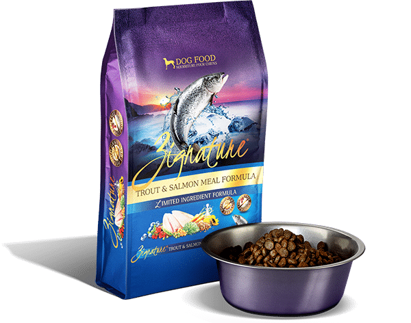 Zignature Zignature Trout & Salmon Limited Ingredient Formula Dog Food 4lbs Product Image