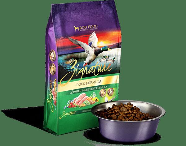 Zignature Zignature Duck Limited Ingredient Formula Dog Food 4lb Product Image