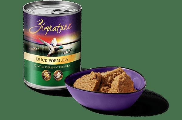 Zignature Zignature Duck Limited Ingredient Formula Dog Can 13oz Product Image