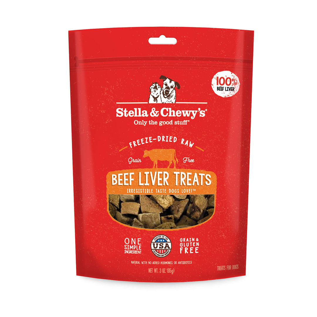 Stella & Chewy's Stella & Chewy's Treat FD Single Ingredient Beef Liver 3 oz Product Image