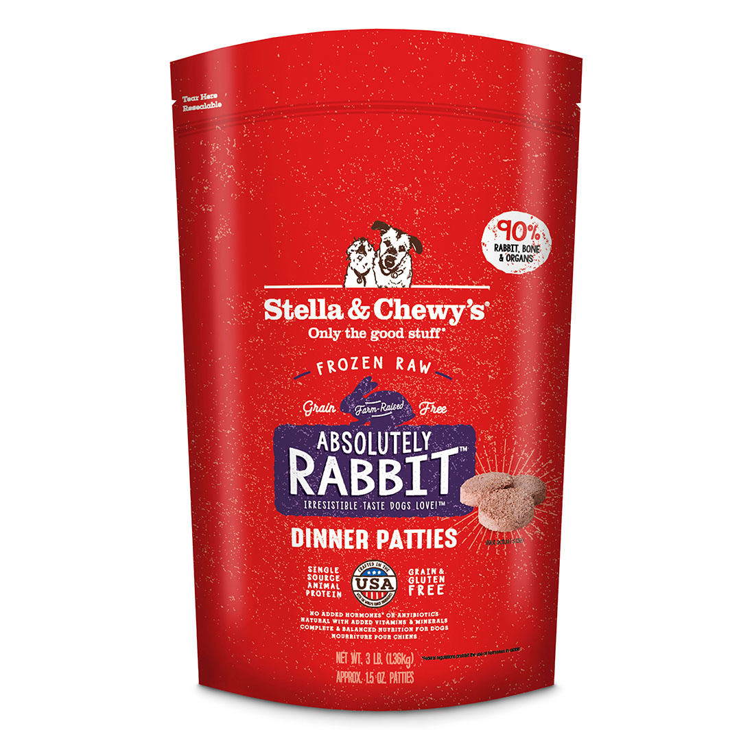 Stella & Chewy's Stella & Chewy's Dog Frozen Absolutely Rabbit Dinner 3# Product Image
