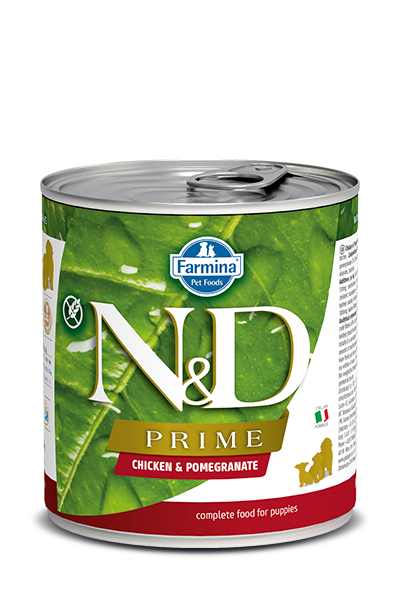 Farmina Farmina N&D Prime Puppy Chicken and pomegranate Dog Can  10.05oz Product Image