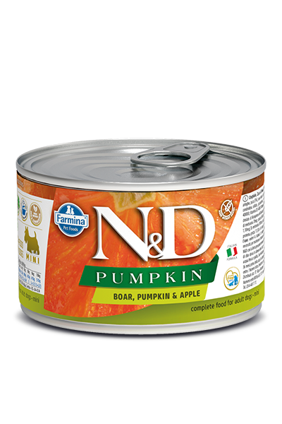 Farmina Farmina N&D Pumpkin Mini Boar and Apple Dog Can 4.9oz Product Image