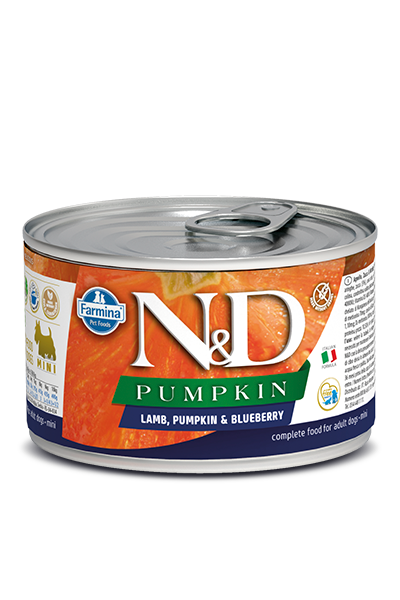 Farmina Farmina N&D Pumpkin Mini Lamb and Blueberry Dog Can 4.9oz Product Image