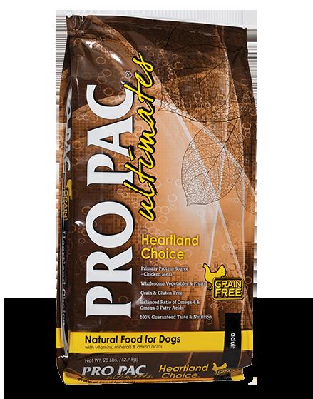 Pro Pac Pro Pac Ultimates Heartland Choice Grain Free Chicken & Potato 28lbs Product Image