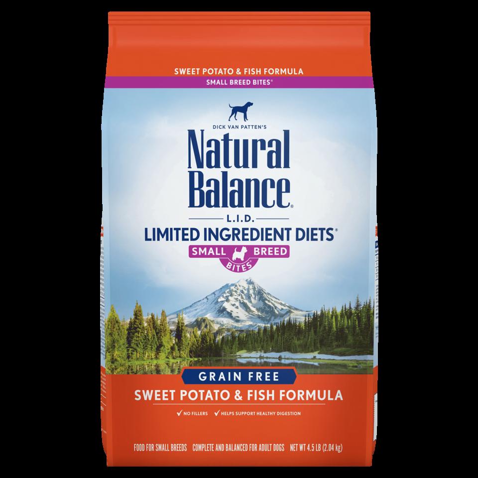 Natural Balance Natural Balance L.I.D. Small Breed Grain Free Sweet Potato & Fish 4.5# Product Image