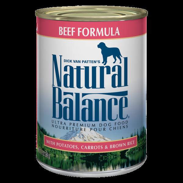 Natural Balance Natural Balance Beef Formula Dog Can 13.2oz Product Image