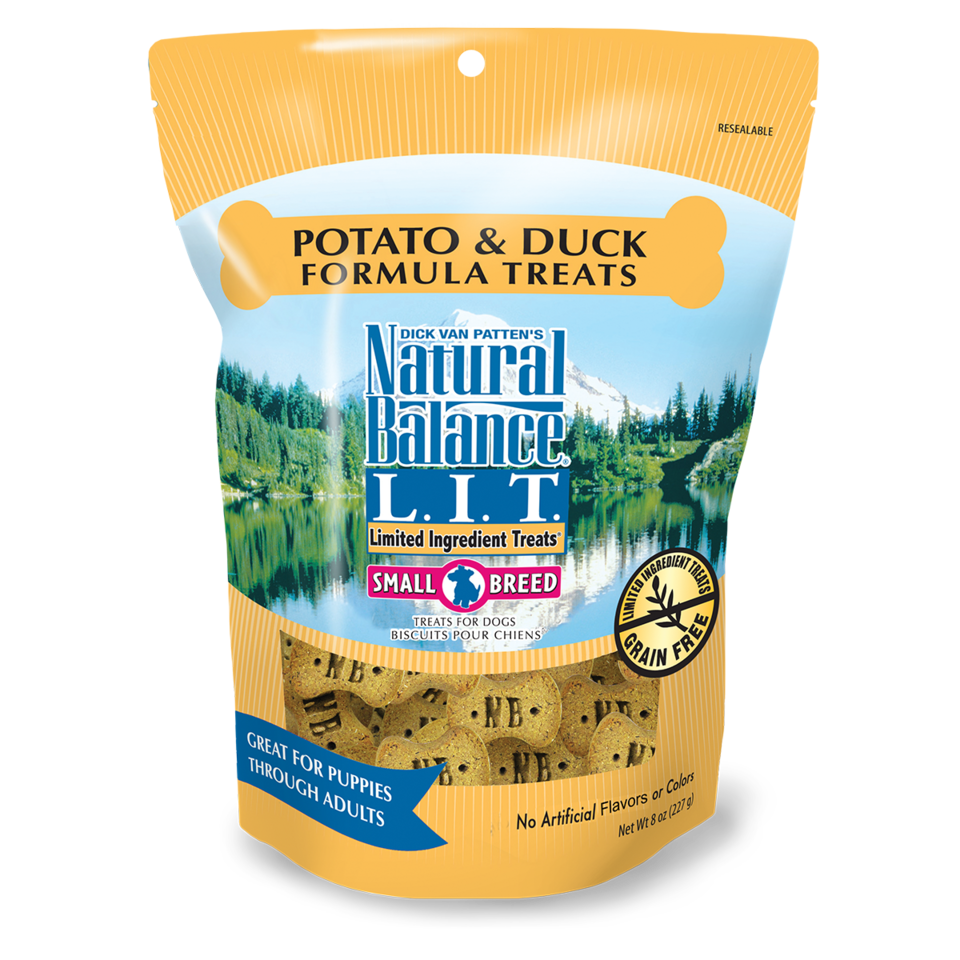 Natural Balance Natural Balance L.I.T. Small Breed Duck & Potato Treats 8oz. Product Image
