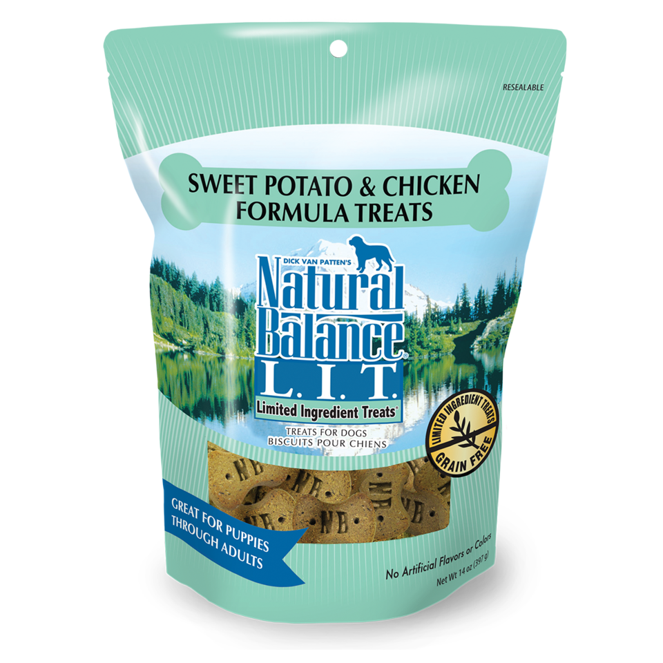Natural Balance Natural Balance L.I.T. Sweet Potato & Chicken Treats 14oz Product Image