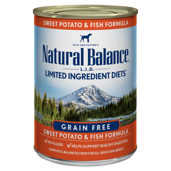Natural Balance Natural Balance L.I.D. Sweet Potato & Fish Dog Can 6oz Product Image