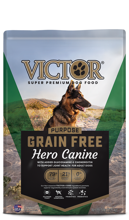 Victor Victor Grain Free Hero Canine Joint Health Dog Food 30lb Product Image