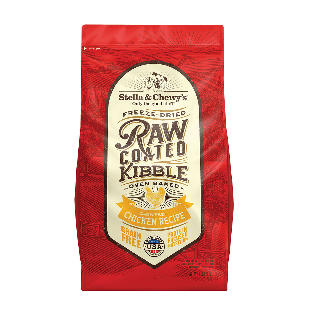 Stella & Chewy's Stella & Chewy's Dog Dry Grain Free Raw Coated Chicken Cage-Free 3.5lbs Product Image