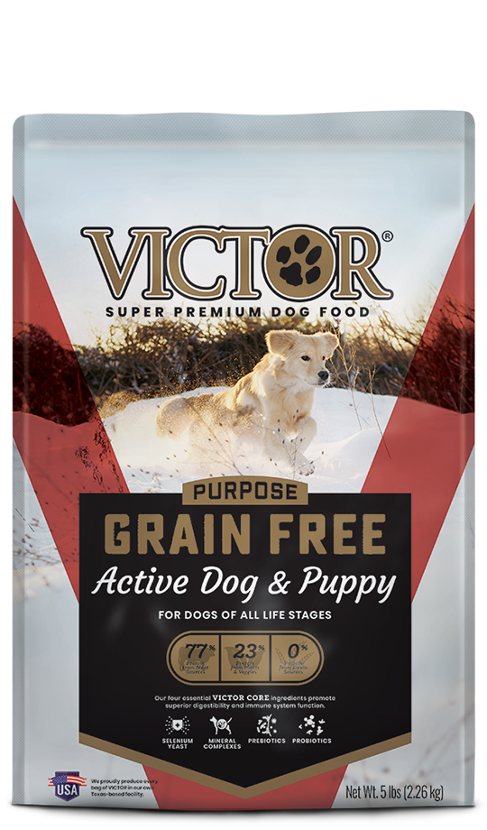 Victor Victor Grain Free Active Dog and Puppy 30lbs Product Image