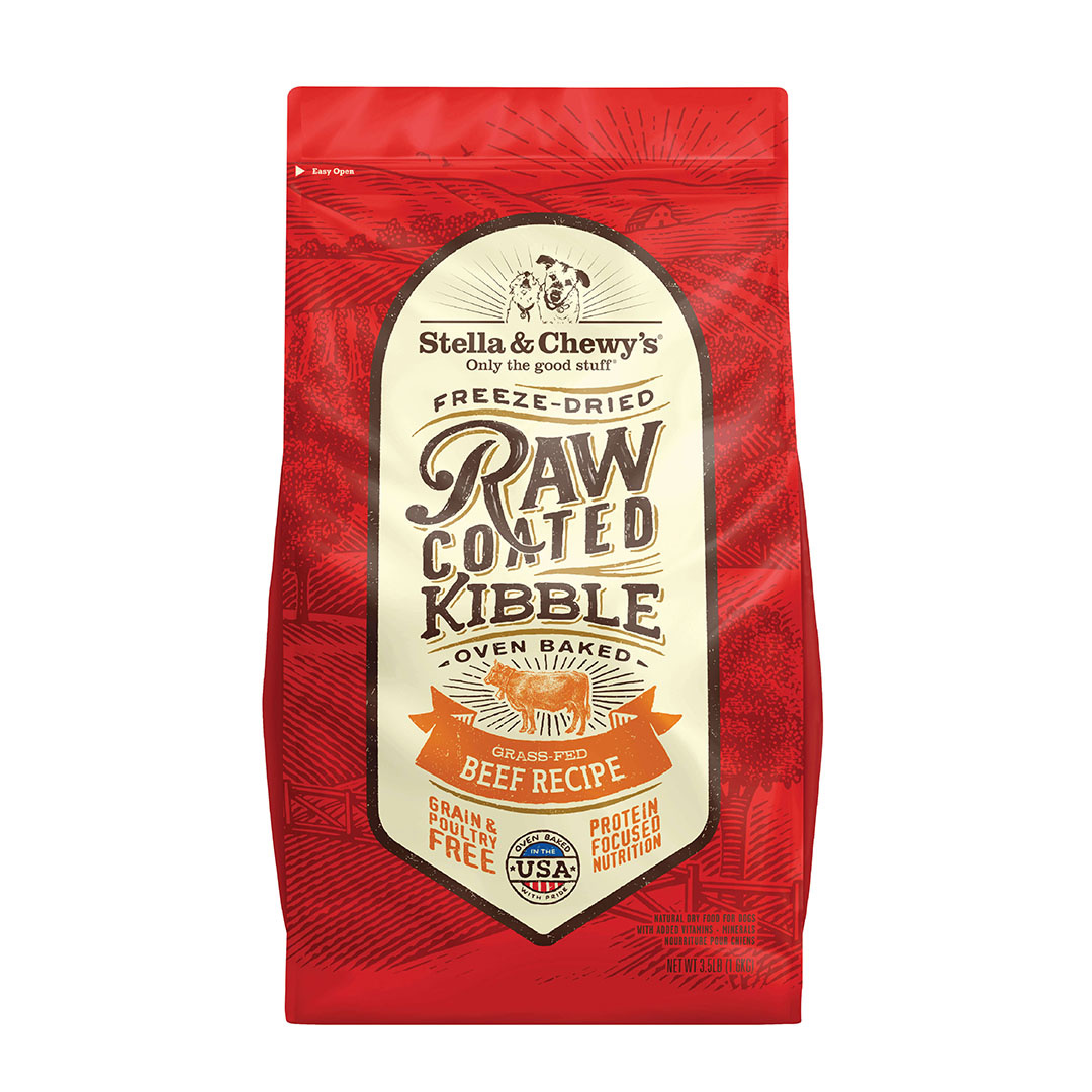 Stella & Chewy's Stella & Chewy's Dog Dry Grain Free Raw Coated Beef Grass-Fed 3.5lbs Product Image