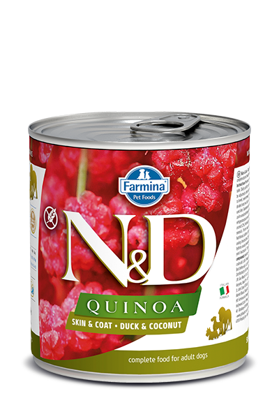 Farmina Farmina N&D Quinoa Skin and Coat Duck Dog Can 10.05oz Product Image