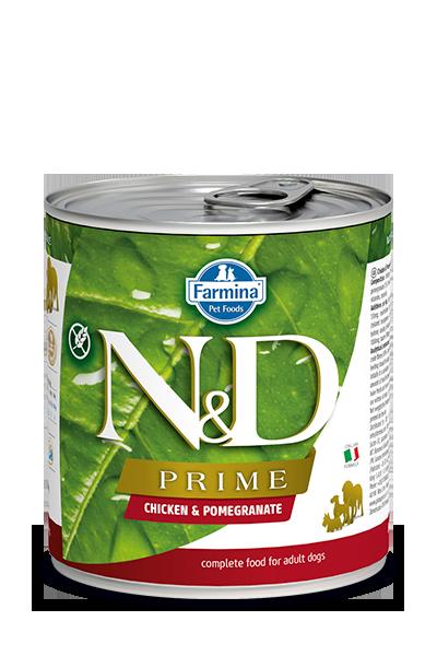 Farmina Farmina N&D Prime Chicken and Pomegranate Dog Can 10.05oz Product Image
