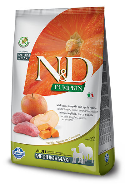 Farmina Farmina N&D Pumpkin Boar and Apple Dog Dry 26.4# Product Image