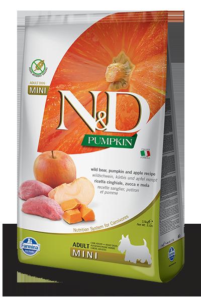 Farmina Farmina N&D Pumpkin Mini Boar and Apple Dog Dry 5.5lbs Product Image