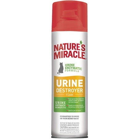 Nature's Miracle Nature's Miracle Cat Urine Destroyer Foam 17.5 oz Product Image