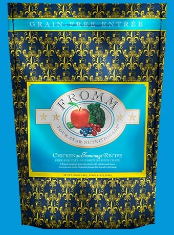 Fromm Fromm 4 Star Grain Free Chicken Au Frommage Cat Food 5lb Product Image