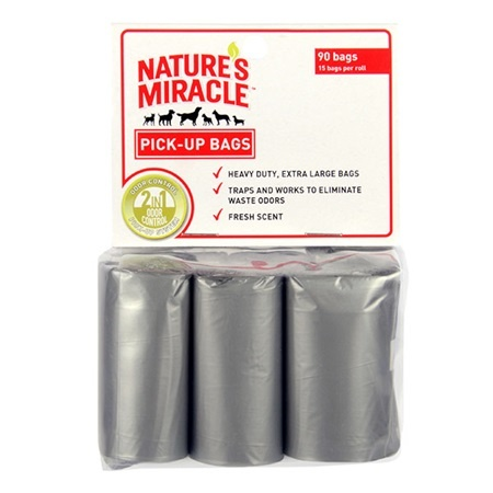 Nature's Miracle Nature's Miracle Pick Up Refill Bags 12 Rolls Product Image